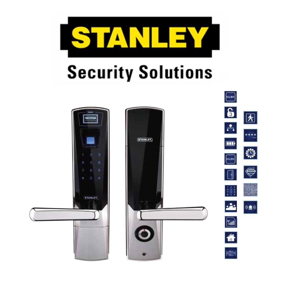 STANLEY SZ100 DIGITAL DOOR LOCK Z100 FINGERPRINT DIGITAL LOCK ( 6 MONTH WARRANTY )