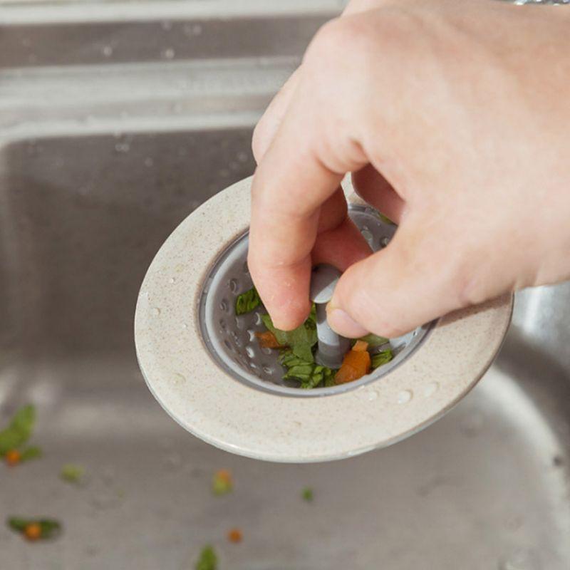 家用厨房水槽下水道防堵塞过滤器 水池过滤网水池地漏盖防堵塞