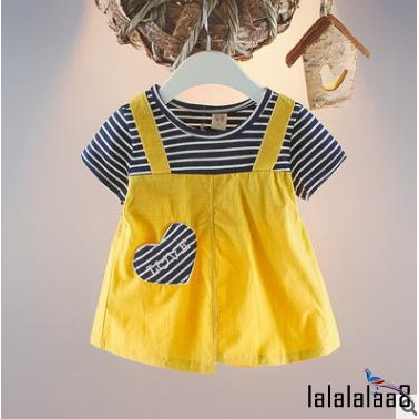 98e8a8b36 ProductImage. ProductImage. ℒℴѵℯ~Newborn Kids Baby Girls Short Sleeve  Clothes Summer Dress Skirt Infant