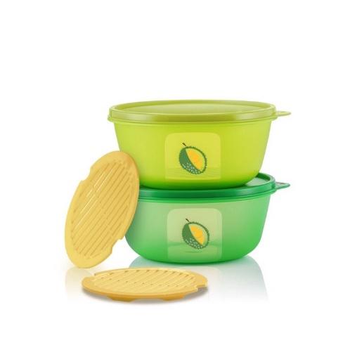 SALE Tupperware (Full Set 2 pcs) Ultimate Durian Keeper 1.5L