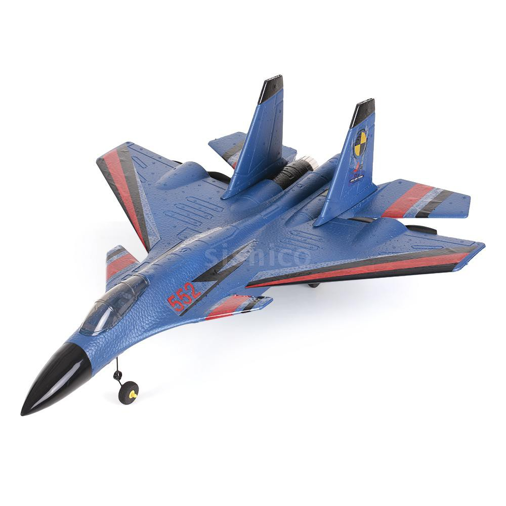 Sis FX-861 2.4G 2CH 480mm Wingspan Remote Control Fighter Fixed Wing with Light EPP RC Airplane Aircraft RTF