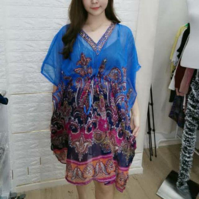 NEW ARRIVAL Butterfly Chiffon dress 新款蝴蝶雪纺裙子