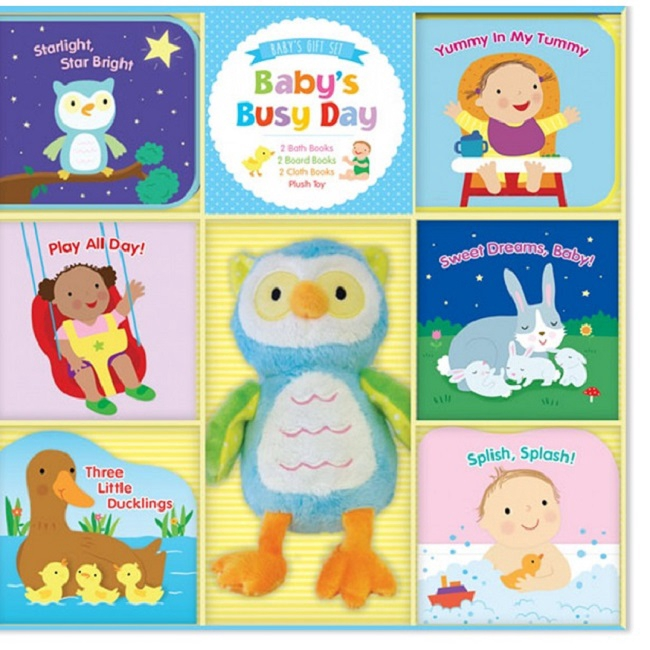 Baby's Busy Day (Baby Gift Set) ISBN: 9781628852035 (MPH)