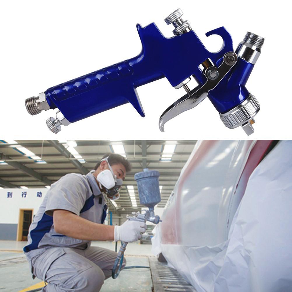 Hvlp Mini Spray Gun 1mm Nozzle Gravity Feed Repair Smart Scratch Sprayer Touch