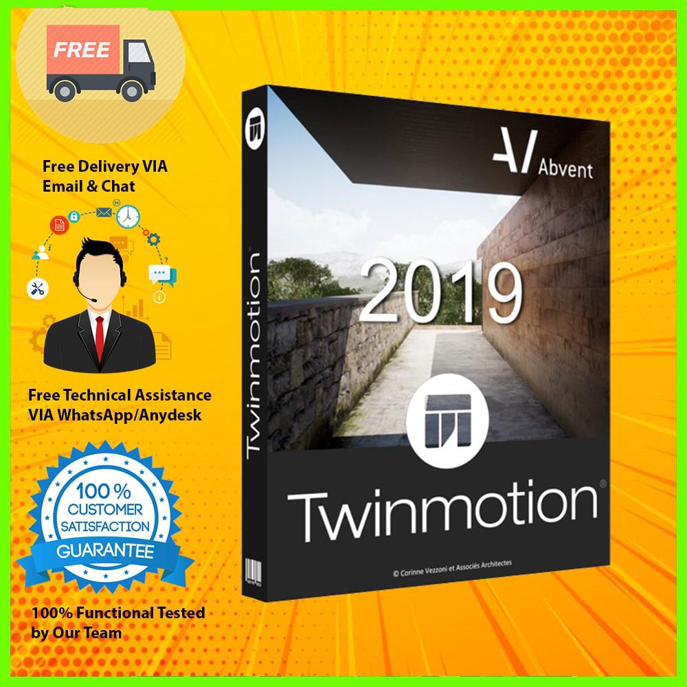 Abvent Twinmotion v2 2019 Full Version