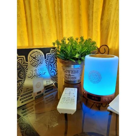 Azan Clock Mq 522a Mq112 16gb Quran, Quran Led Lamp Bluetooth Speaker