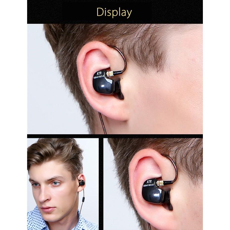🚛Ready stock LOCAL📦 Quality Performance Hi-Fi IEM Sports Bass Music Stereo Sound Headset