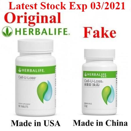 Herbalife Cell U Loss Cell U Loss 90 Tablet Exp 03 2021 Ready Stock 100 Original
