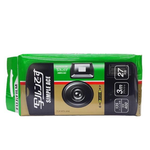 Fujifilm Simple ACE Camera ISO 400 กล้องฟิล์มใช้แล้วทิ้ง