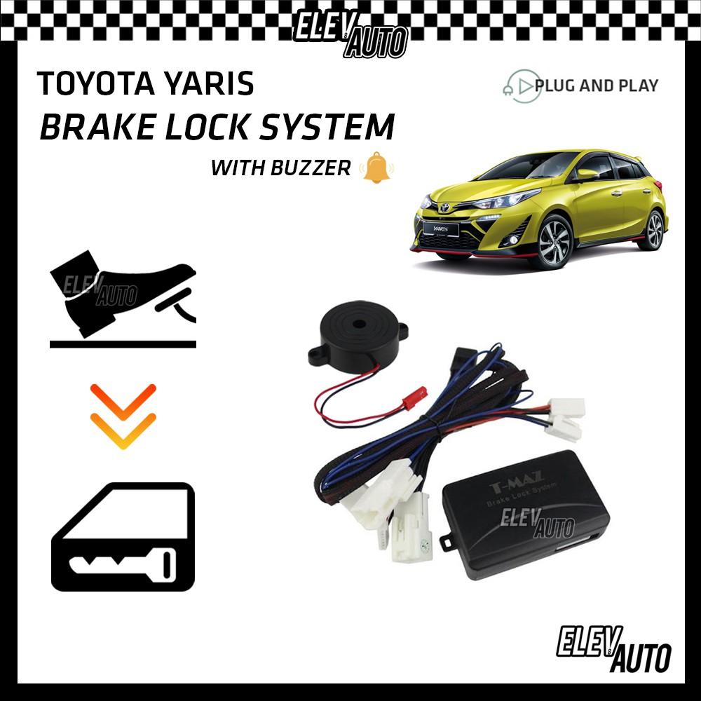 Toyota Yaris Brake Lock System with Buzzer (Plug & Play)
