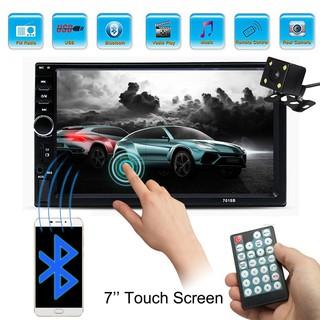 7inch Bluetooth 2 Din Car MP5 Player + Rear View Camera 7018B