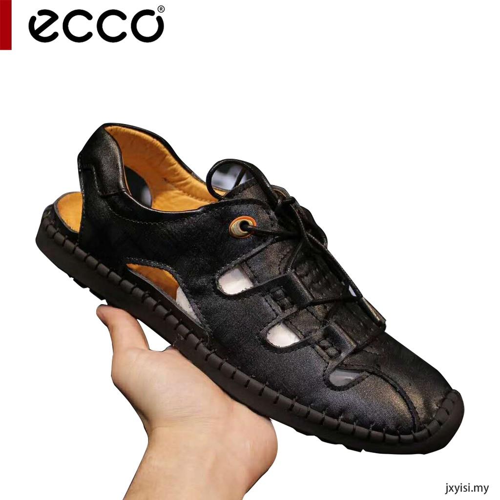 Kasut kulit Summer Breathable Non-slip Casual Beach ECCO Sandals Leather  Shoes  c497b02c5