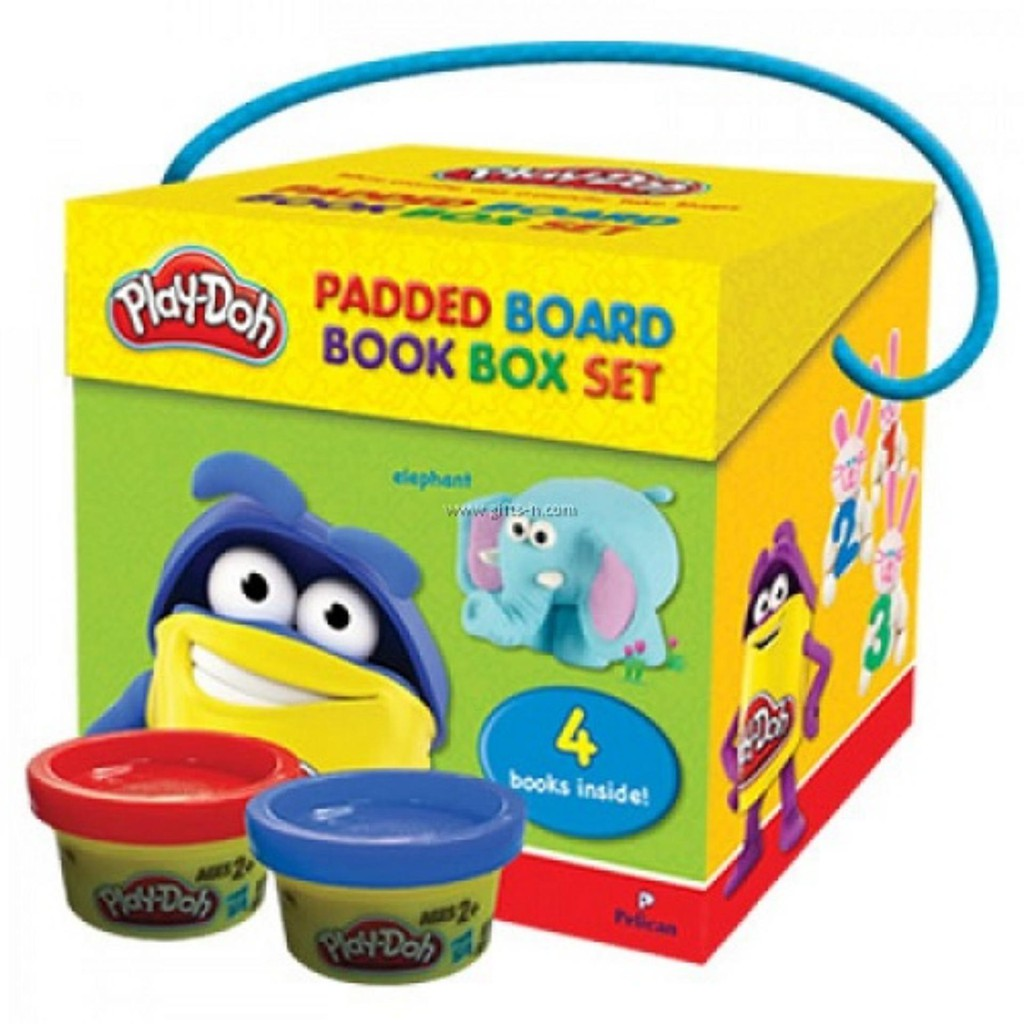 Play-Doh Padded Board Book Box Set (ISBN: 9555563104197)