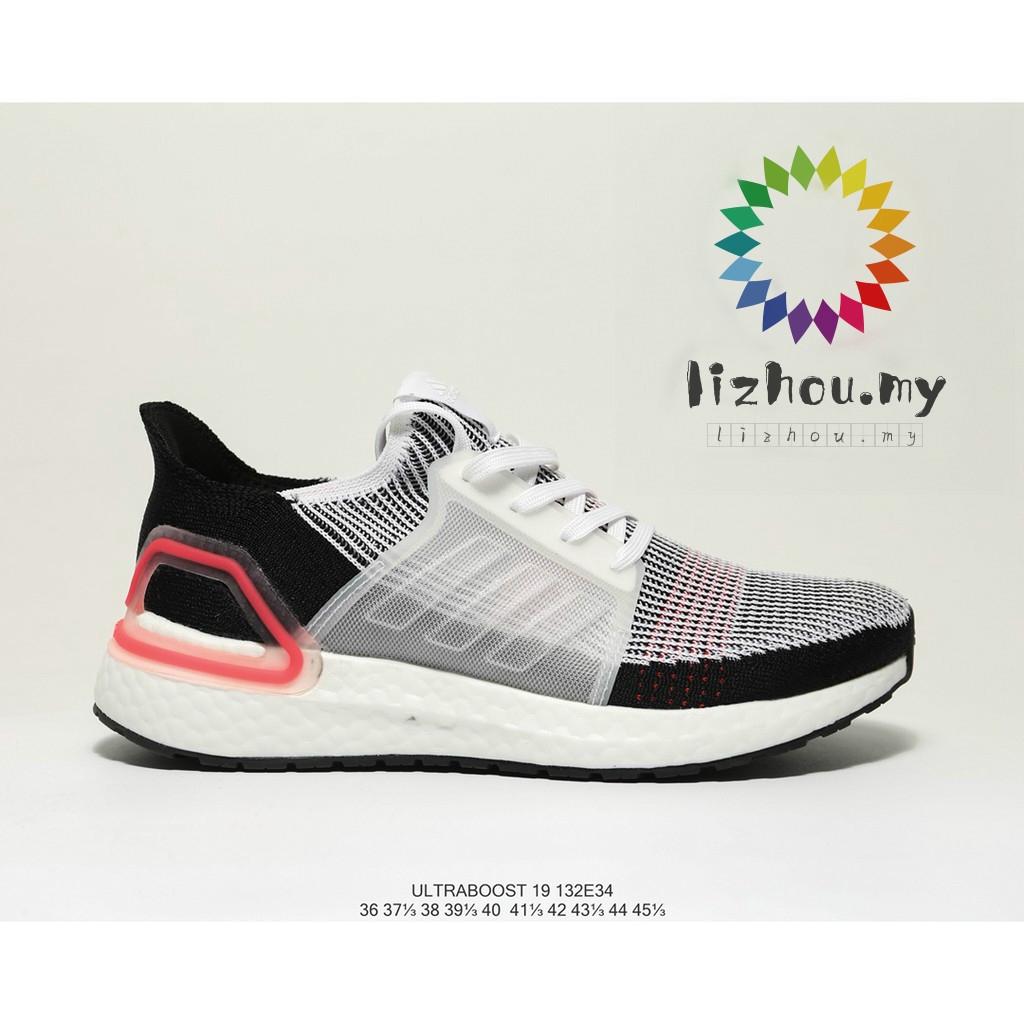 17df62674 Adidas UltraBoost 19 UB5.0 woven surface popcorn cushioning midsole sports  shoes
