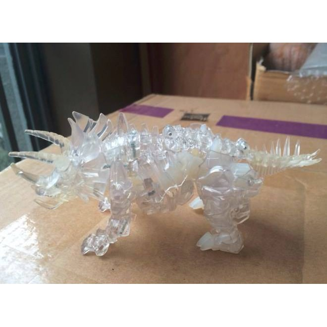 Clear Plastic and Metal Limited Edition