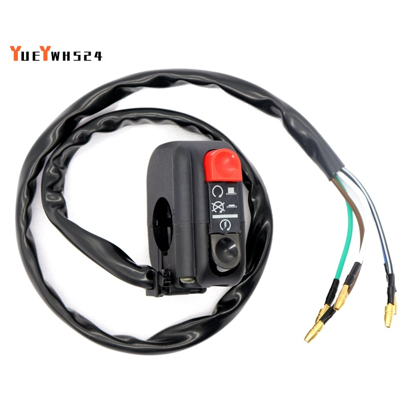 Modified Motorcycle Electric Vehicle Retro Turn Off Switch Start High-End  Switch