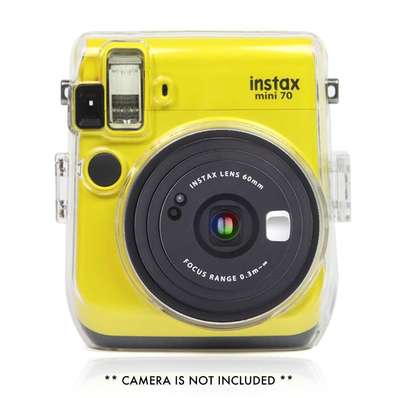 CAIUL เคสโทรศัพท์แบบใสสำหรับ Fujifilm Instax Instant C