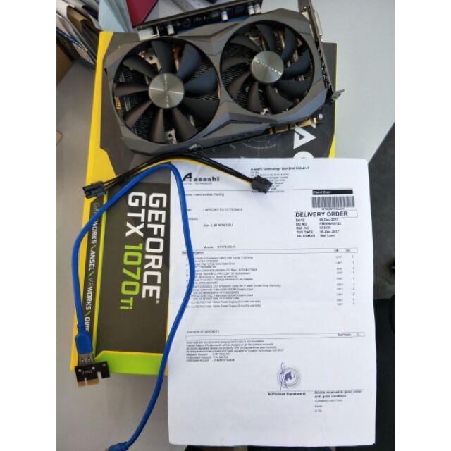 Nvdia GTX 1070TI