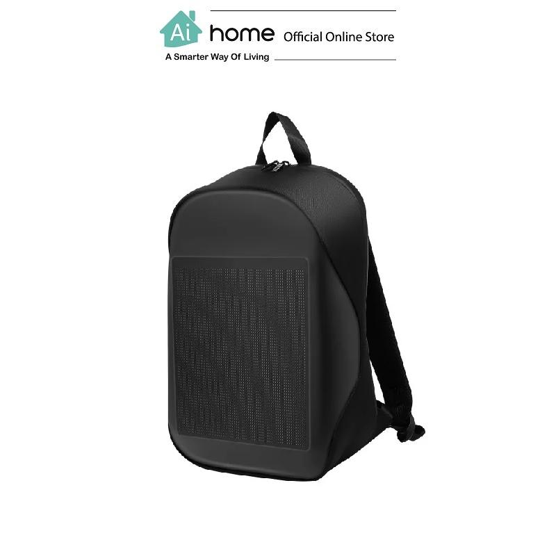 BIOSLED Smart LED Lifestyle Bag (Black) with 1 Year Malaysia Warranty [ Ai Home ]