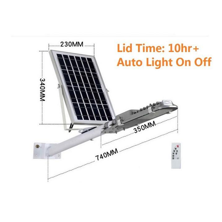 [ READY STOCK ]  Solar Waterproof IP65 15w/18w/36w LED Solar Powered Outdoor Street Light Auto On Off pelita lampu