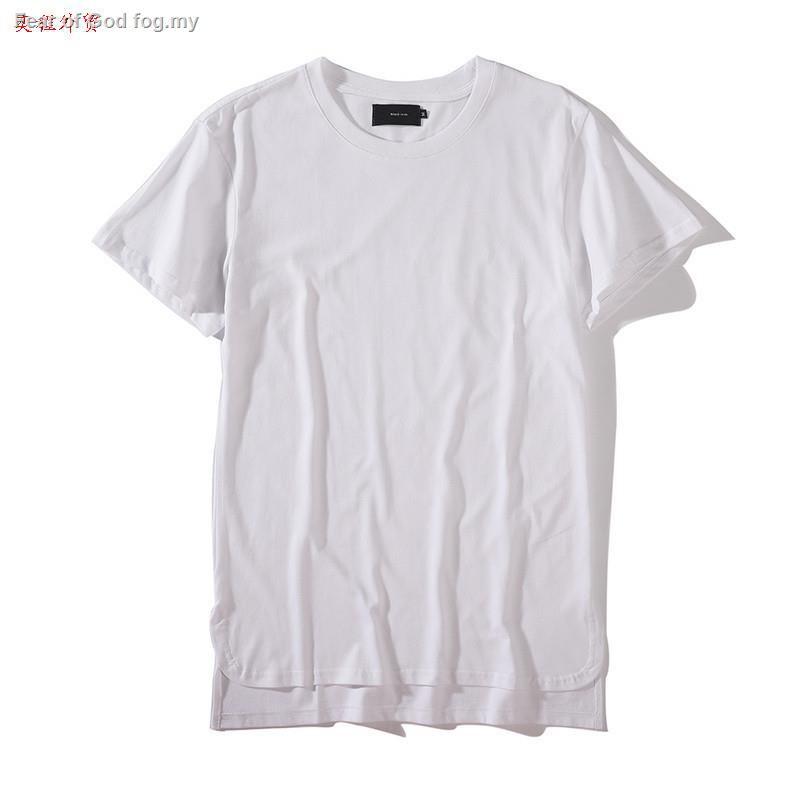 YUNY Mens Ripped Solid Short Sleeve Leisure Tshirt Top Shirt White M