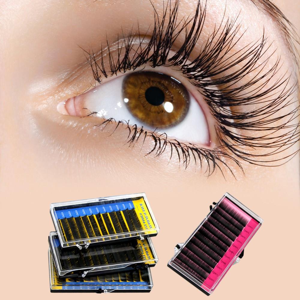 Eyelash Eye Lash Extensions Curly Makeup Tool Diy