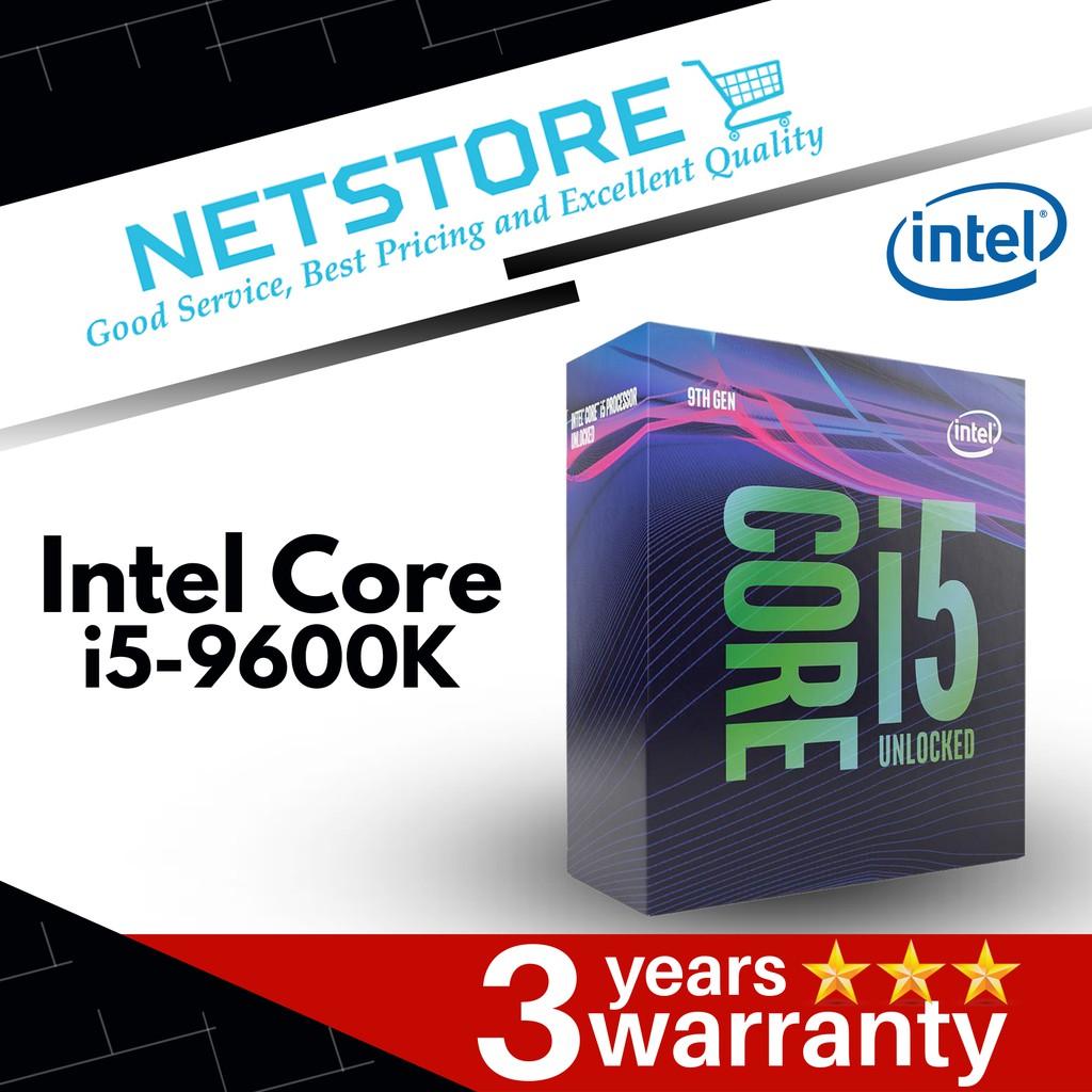Intel Core i5-9600K Coffee Lake 6-Core 3 7 GHz (4 6 GHz Turbo) Processor