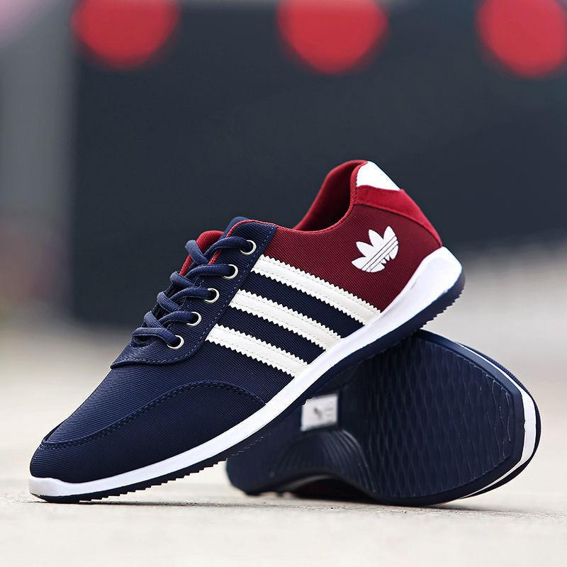 2018 Men's Shoes Fashion Breathable Casual Canvas Sneakers Running Shoes 6-9