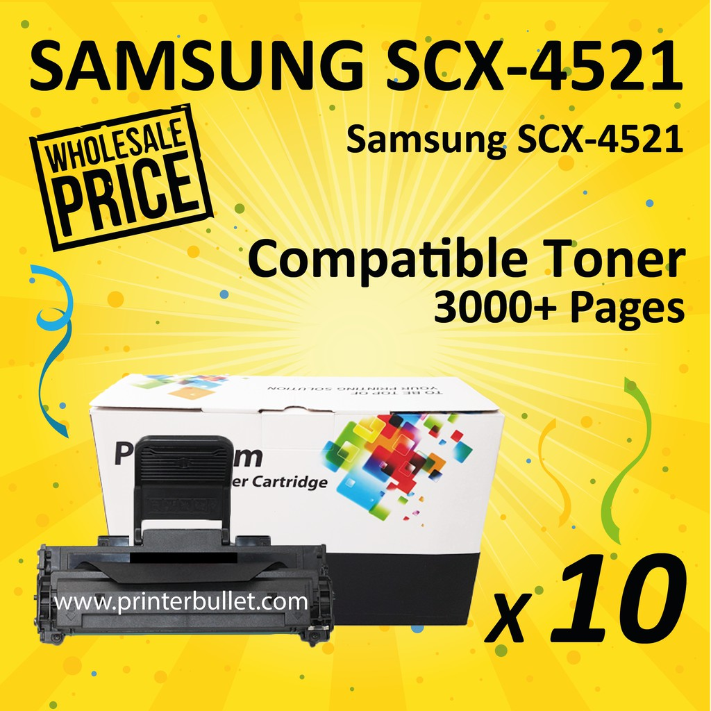 10 unit SAMSUNG SCX4521 Compatible Toner Cartridge