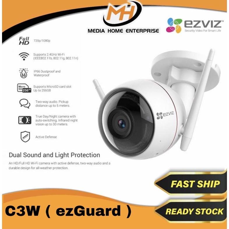 Ezviz Outdoor Wireless Dome Camera CS-CV310 (C3W - ezGuard)
