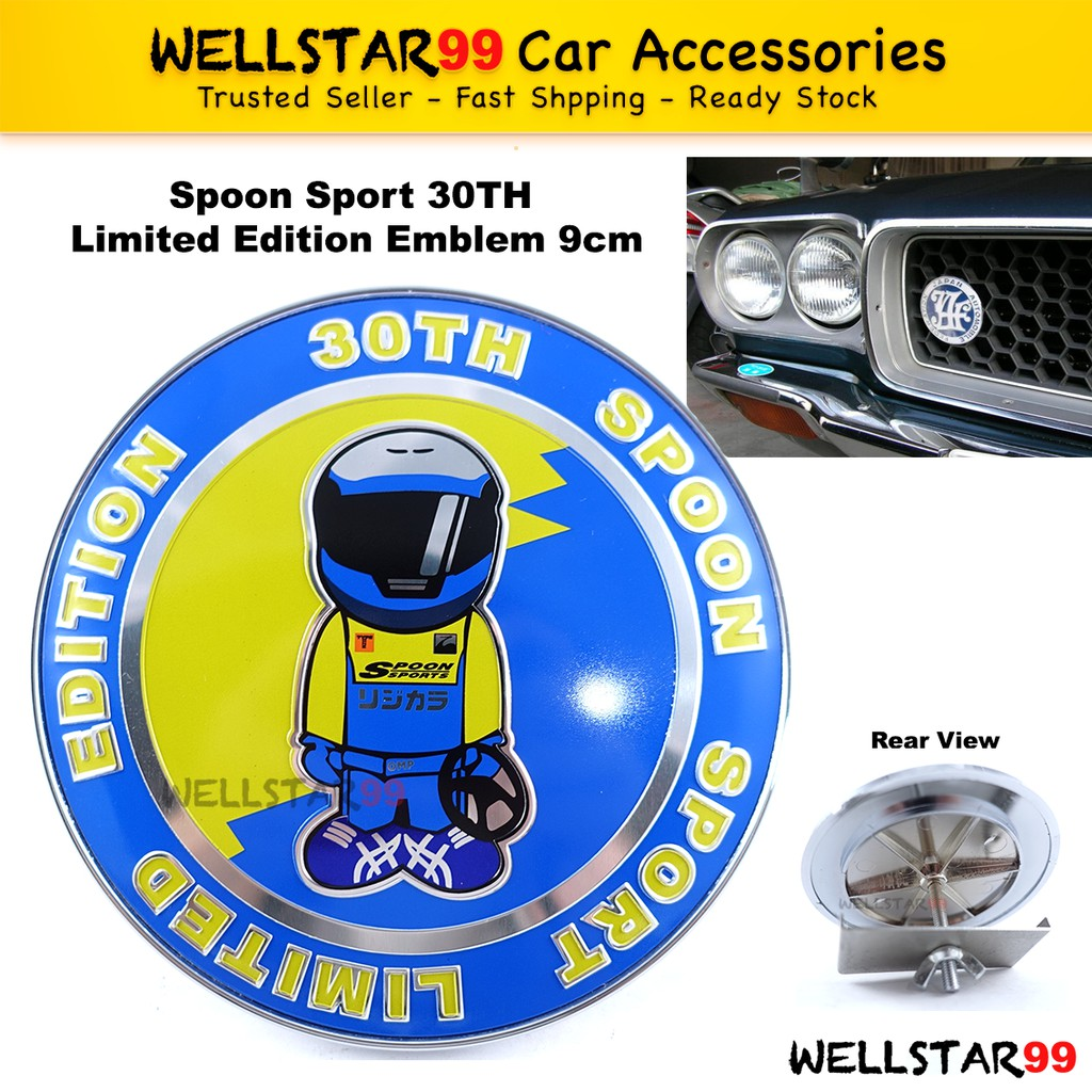 Auto car chrome R SPORT for Racing Edition Front Grill Grille Badge Emblem