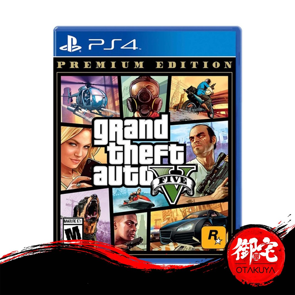 Promo Ps4 Gta V Ps4 Gta 5 Ps4 Grand Theft Auto V Premium Edition English English Chinese Version Shopee Malaysia