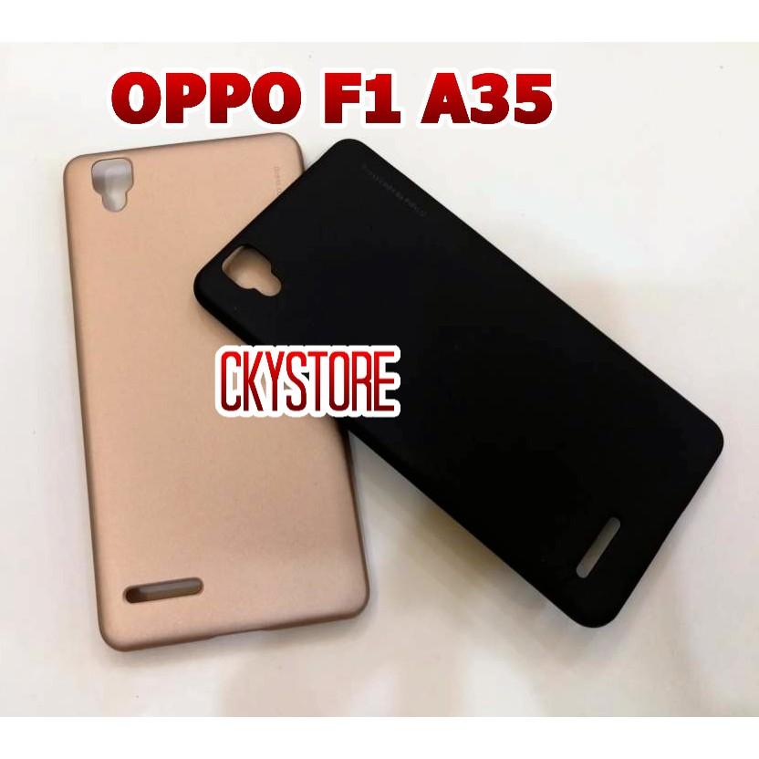 quality design cc0e7 9186e PROMOTION OPPO F1 A35 X-Level Metallic SLIM Hard Case Cover