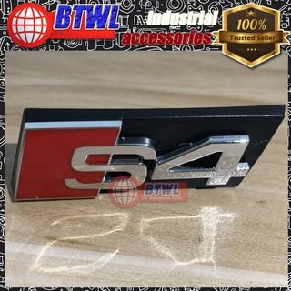 Audi S4 Logo Front Badge Grill Emblem Sticker for all Audi