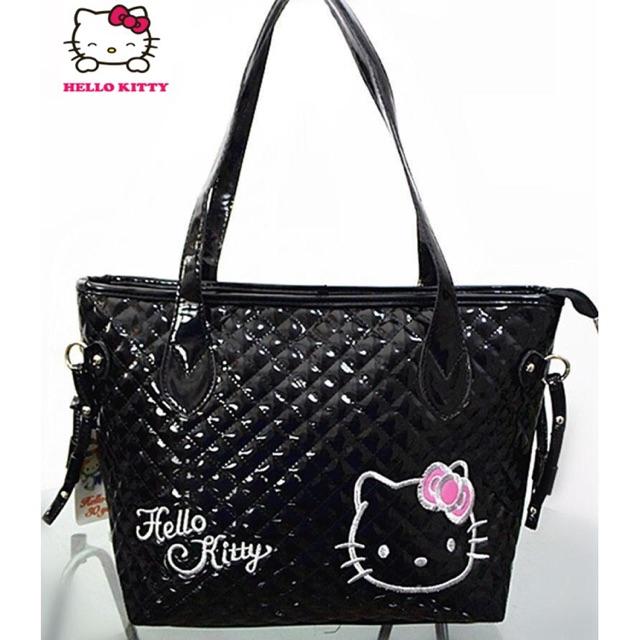 b67898bbd Ready stock ✈WOMEN pu black handbag tote bag lady shoulder bag | Shopee  Malaysia