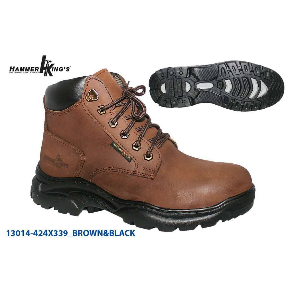 f6278b3ca78 Hammer King's Safety Shoe Mid Cut 13014