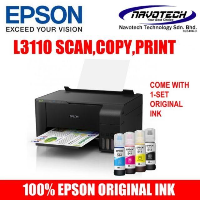 Epson EcoTank L3110 All-In-One Ink Tank Printer   J200 J105 J100  G2010,G3010,T510W G3000 G2000 M15 2135 E510