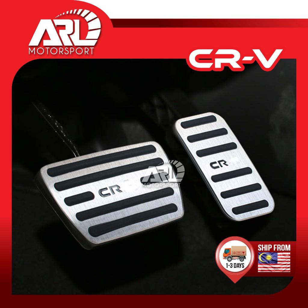 Honda CR-V / CRV (2017-2020) Silver Auto Pedal With Logo CR-V Car Auto Accessories ARL Motorsport