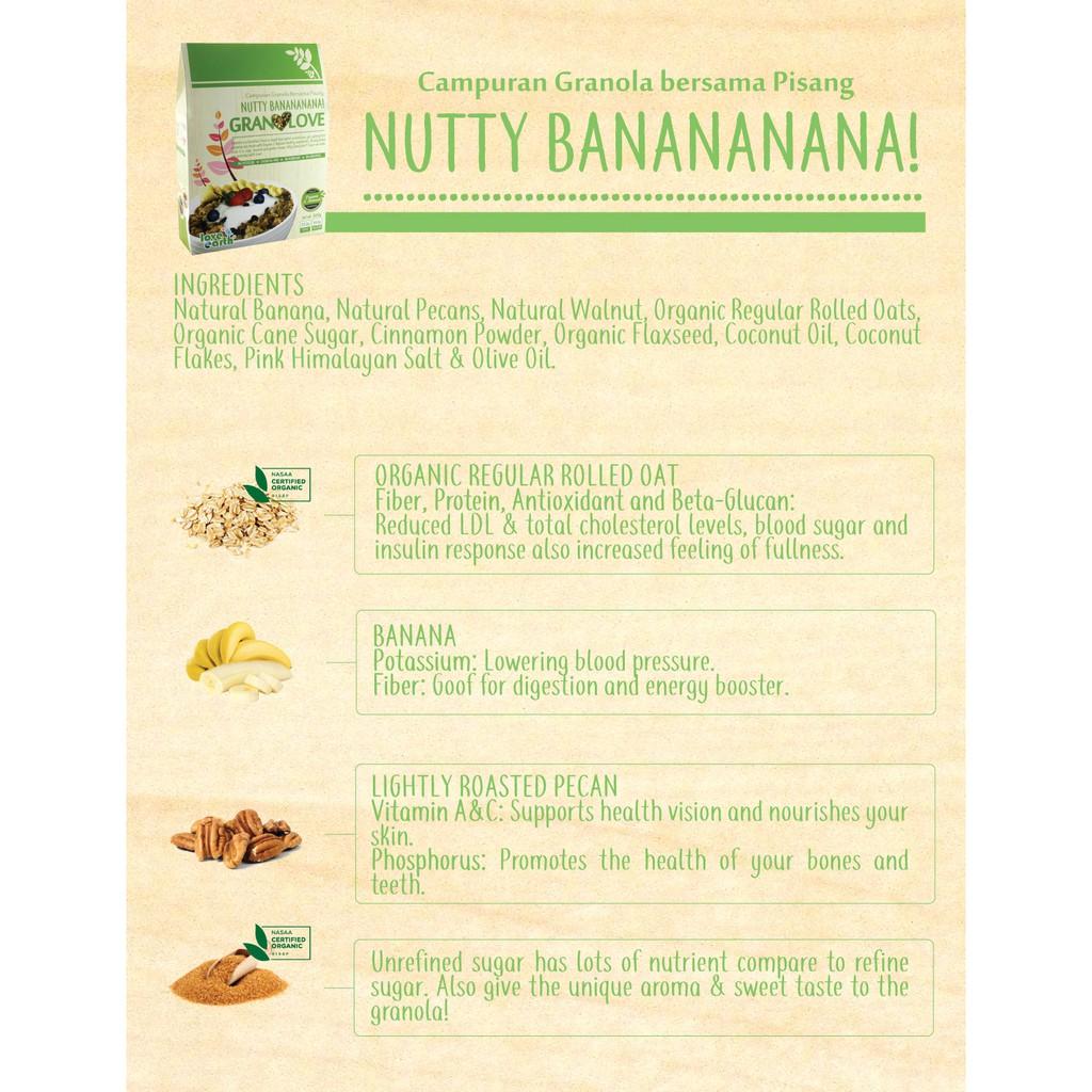 Nutty Banananana! Granolove 300g
