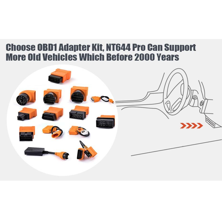 oxwell NT644 Pro Auto Diagnostic Scanner Support Perodua Proton Mahindra  TATA