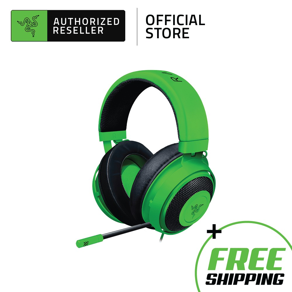 Razer Kraken Multi-Platform Competitive 7.1 Surround Sound Wired Gaming Headset