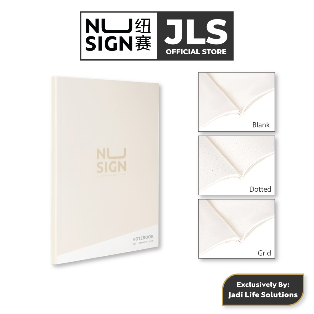 Jadi Nusign Multipurpose Notebook in Evening Shadow