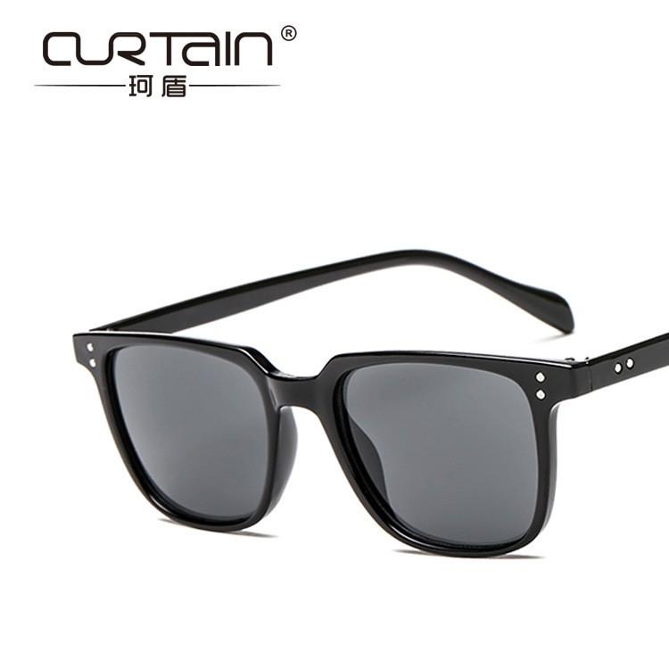 classic box rice nail sunglasses cross-border retro colorful sunglasses  Europe and America men and women sunglasse
