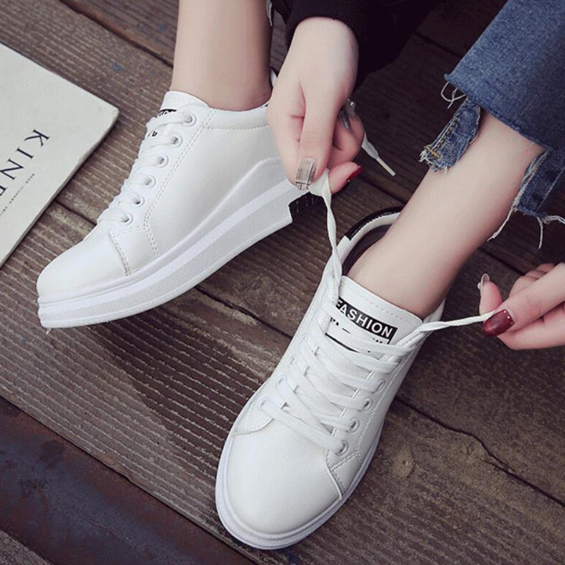 4f9964d23b new fashion style white shoes casual shoes flat shoes H68 Women's