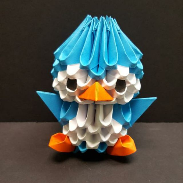 Origami Penguin Step-By-Step Instructions Teaching Resource ... | 640x640