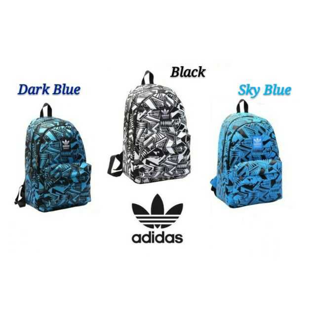 Ready !! Adidas Limited Edition Butterfly Backpack Adidas Demon Eye Travel  bags  61214483c4015