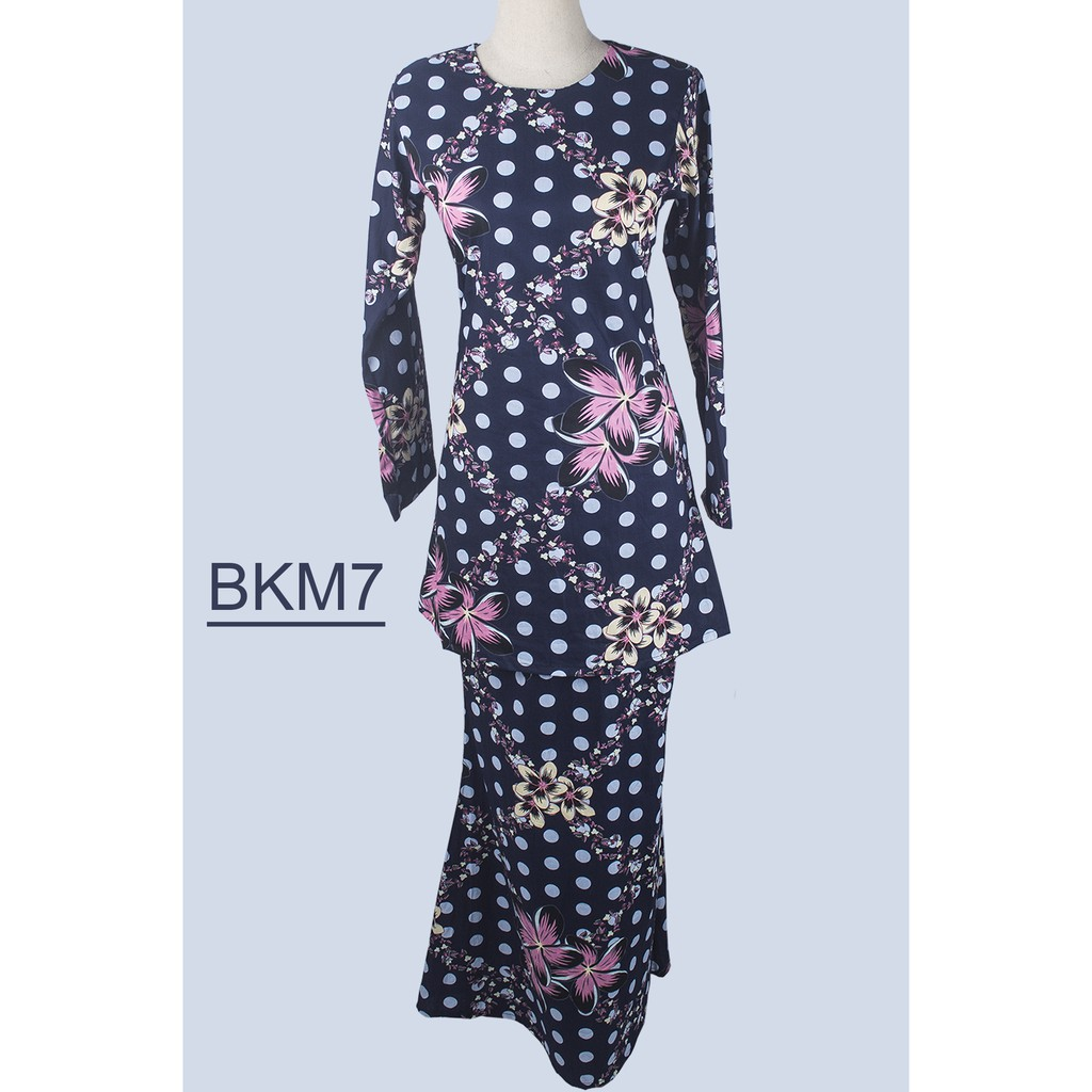 Baju Kurung Moden Cotton BKM7