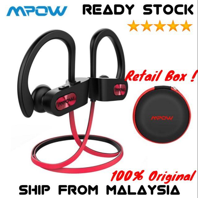 d0fbb0ff8ce Mpow Cheetah Bluetooth Headphones IPX5 Waterproof & 8-Hour Playtime |  Shopee Malaysia