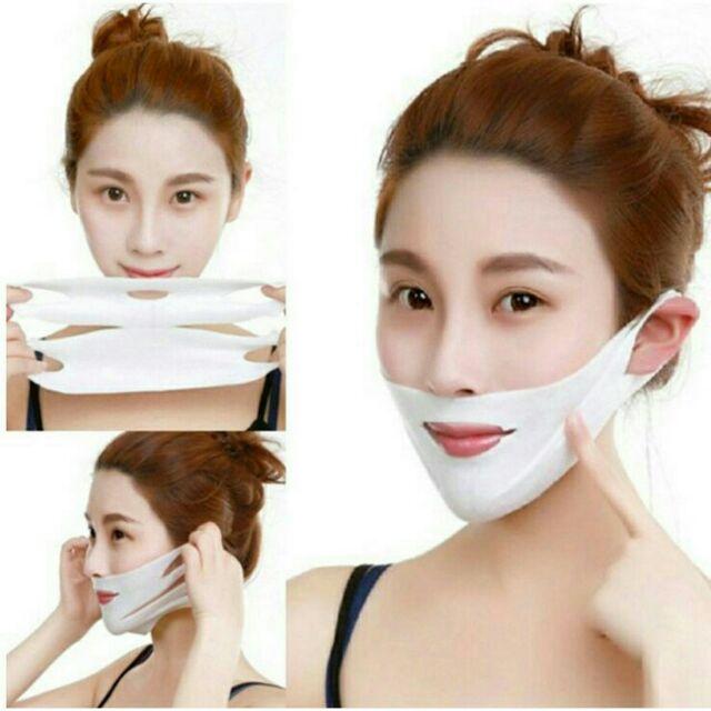 anti-Wrinkle V Face Chin Cheek Lift Up Slim Mask Ultra-thin Belt Strap Band | Shopee Malaysia
