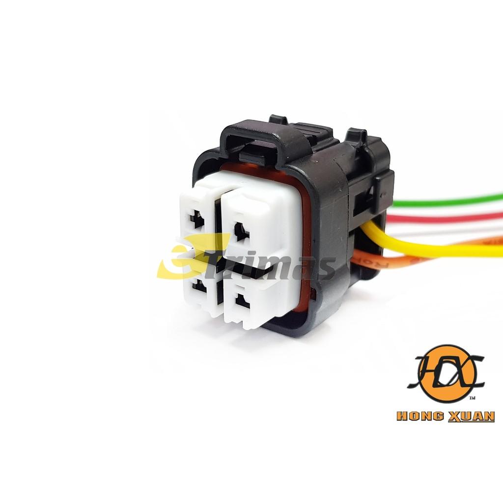 HX-3958-FM Perodua Myvi Kelisa Kenari Fuel Pump Connector Socket